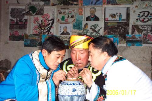 土家族文化:土家咂酒习俗是怎么由来的?