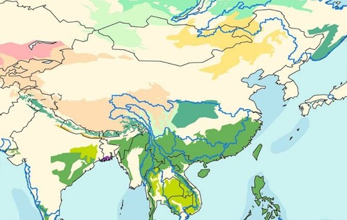 西南喀斯特山区地图